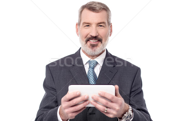 Wow, it's very easy to operate. Stock photo © stockyimages