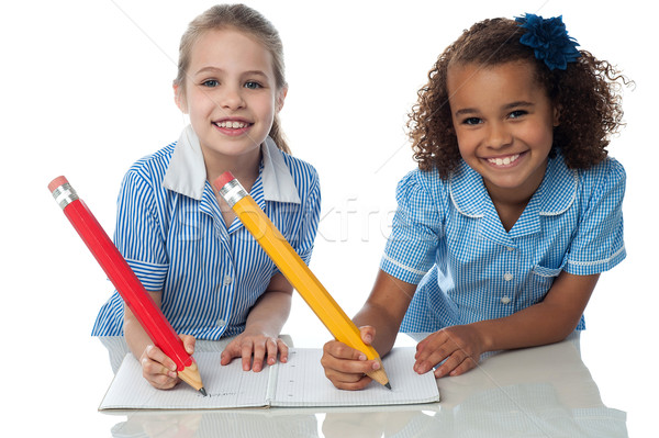 We are writing our assignment Stock photo © stockyimages