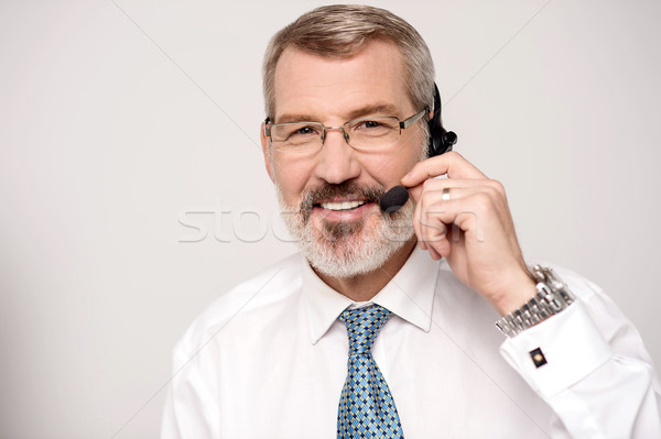 My pleasure to serve you Stock photo © stockyimages