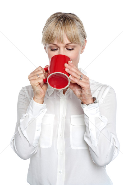 I so badly needed that coffee Stock photo © stockyimages