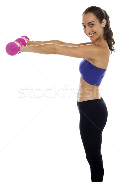 Commit to be fit Stock photo © stockyimages