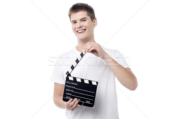 Get ready for the action ! Stock photo © stockyimages