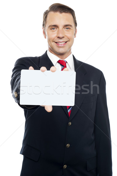 Place your business ad here Stock photo © stockyimages