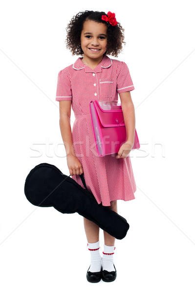 I am ready for my music class... Stock photo © stockyimages