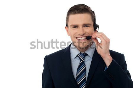 How may I help you?  Stock photo © stockyimages