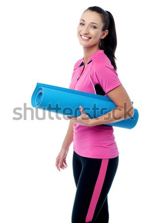 Exercise regularly, stay fit! Stock photo © stockyimages