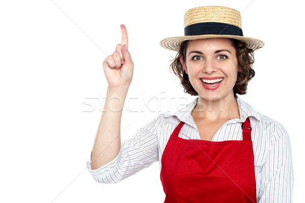 Yes, I can cook great food Stock photo © stockyimages