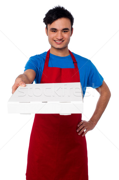 Here is your order sir... Stock photo © stockyimages