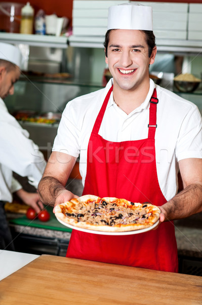 Your order is ready sir Stock photo © stockyimages
