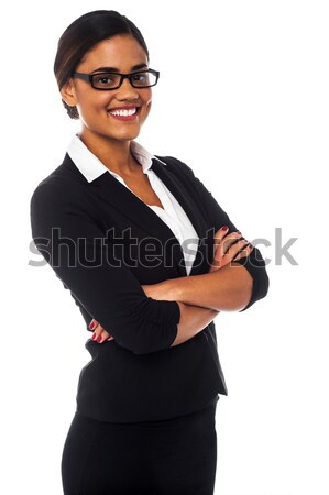 Beautiful businesswoman portrait Stock photo © stockyimages