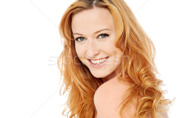 Do you like my new hair color ? Stock photo © stockyimages