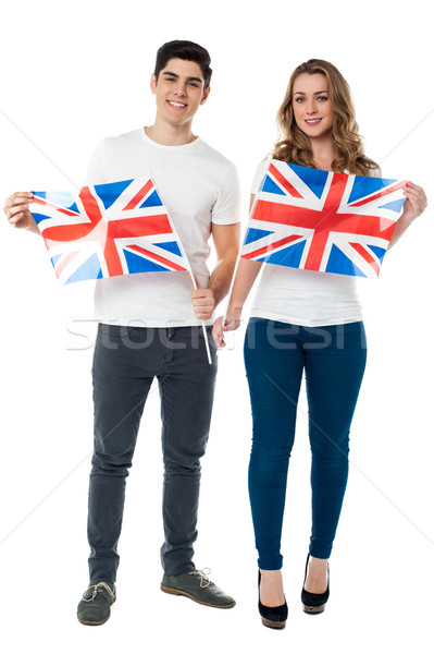 We are proud British supporters Stock photo © stockyimages