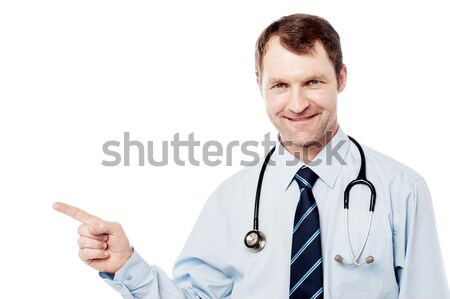 Don't worry, patient is all right. Stock photo © stockyimages
