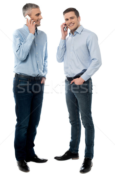Hi mate, how are you doing ? Stock photo © stockyimages