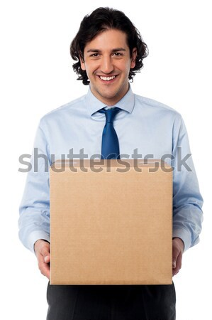 Got delivered my parcel. Stock photo © stockyimages
