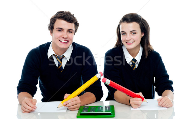 We are ready for the general knowledge quest Stock photo © stockyimages