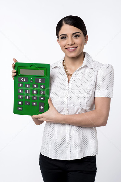 It's save my time in accounts. Stock photo © stockyimages