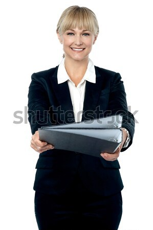 Boss, here are the documents you asked for. Stock photo © stockyimages