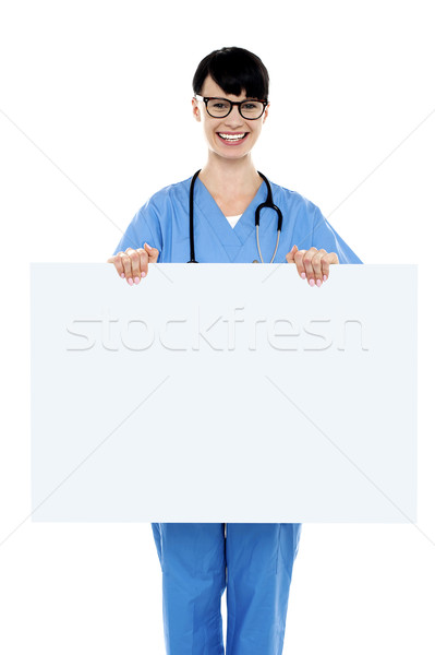 медицинской практикующий врач совета Сток-фото © stockyimages