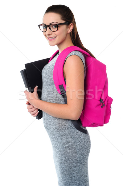 University student ready to attend college Stock photo © stockyimages