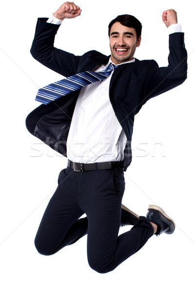 We did it ... Yay! Stock photo © stockyimages