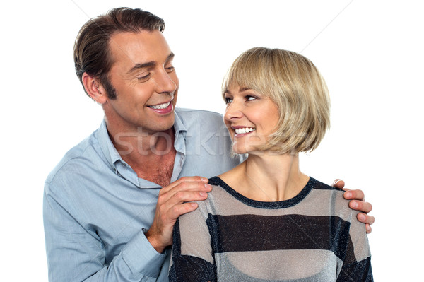 Stock photo: I love you my adorable darling !