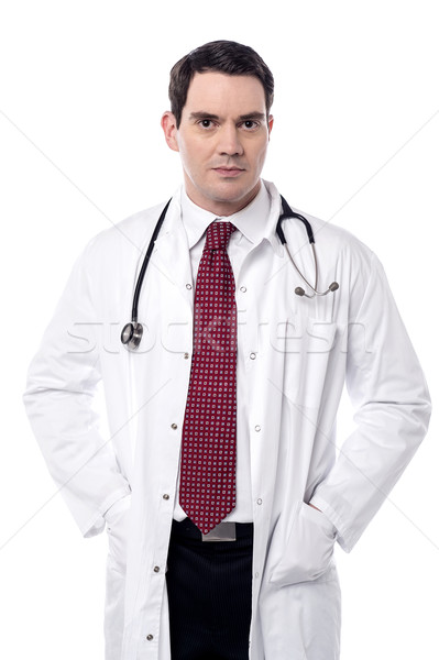 Patient in critical condition. Stock photo © stockyimages