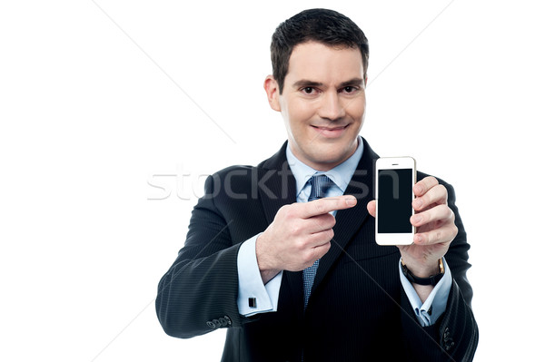 Best smart phone now in market. Stock photo © stockyimages