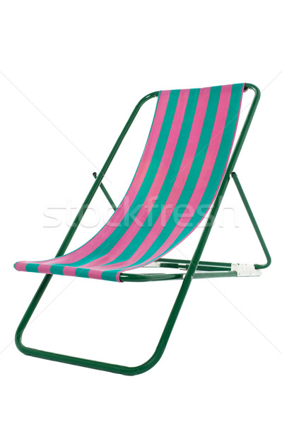 Fully editable vector illustration of a deckchair Stock photo © stockyimages