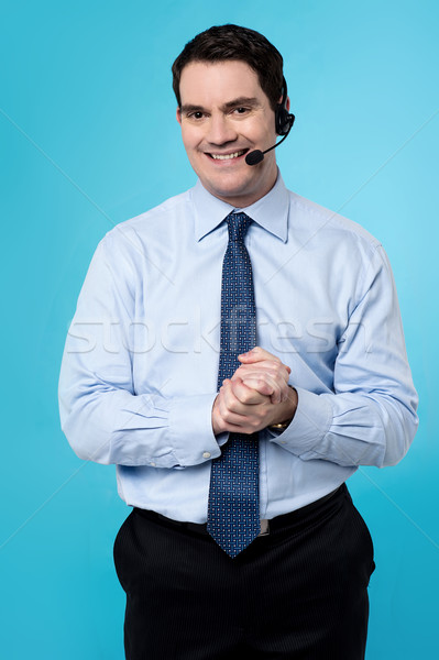 How can i help you sir ? Stock photo © stockyimages