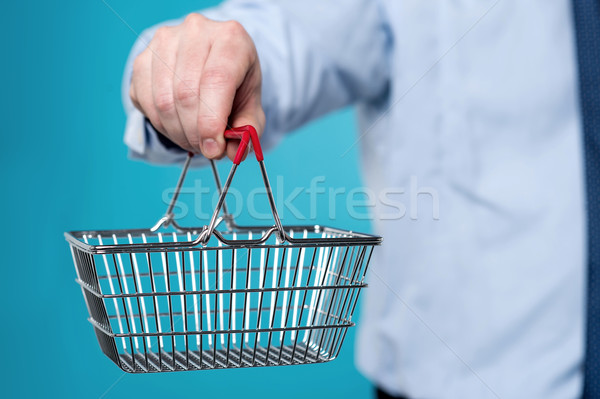 Now, shopping is easy in online.  Stock photo © stockyimages