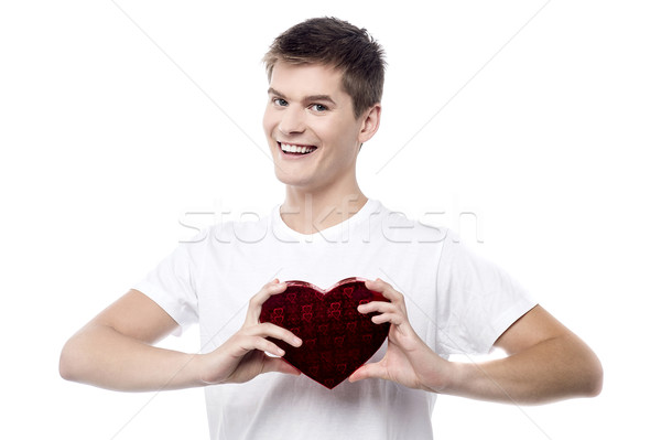 Take my heart, dear valentine ! Stock photo © stockyimages