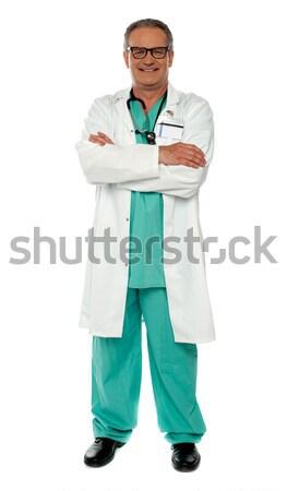 Médicaux expert permanent portrait Photo stock © stockyimages