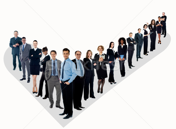 The perfect group of business people Stock photo © stockyimages