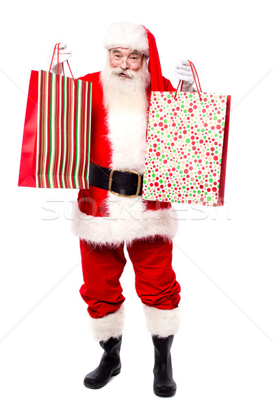 Here are your gift bags, Merry Christmas. Stock photo © stockyimages