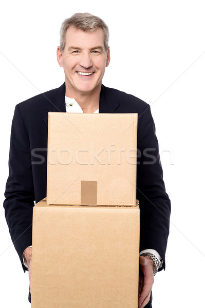 Relocating to new place. Stock photo © stockyimages