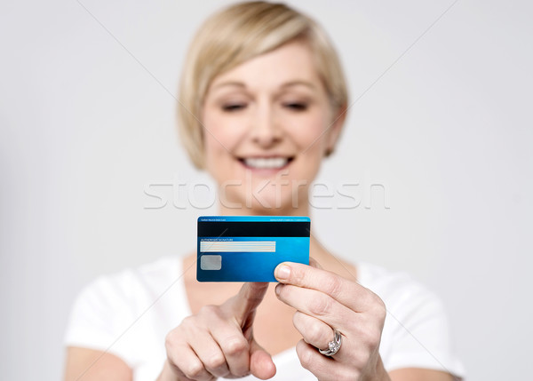Validity of this card is OK. Stock photo © stockyimages