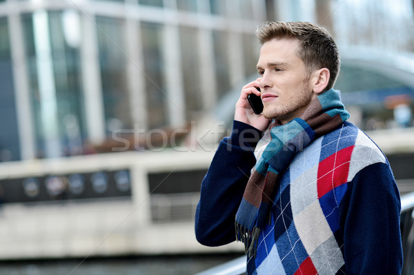 Hello dear, i am waiting for you here. Stock photo © stockyimages