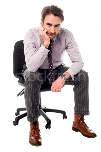 I had a major business loss Stock photo © stockyimages