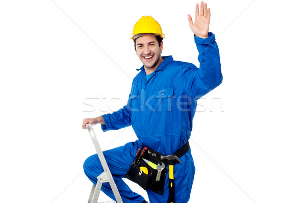 Hey guys, time for some team work! Stock photo © stockyimages