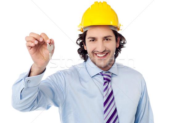 ここで キー ツール ルーム 市民の エンジニア ストックフォト © stockyimages