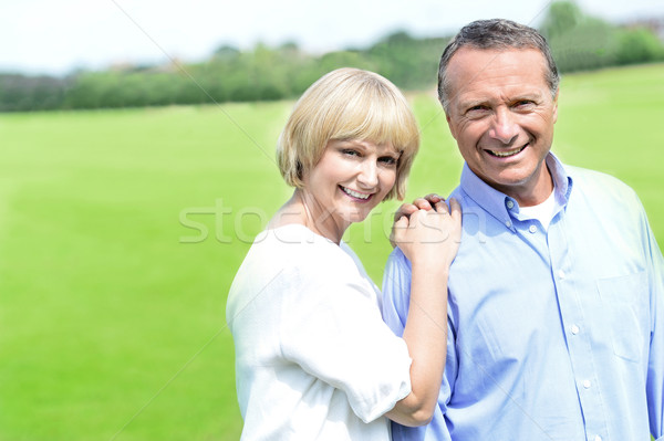 Beautiful couple enjoying their day out Stock photo © stockyimages