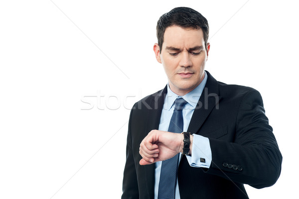 I am late at office today. Stock photo © stockyimages