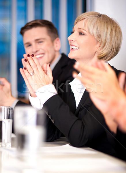Business associates applauding Stock photo © stockyimages
