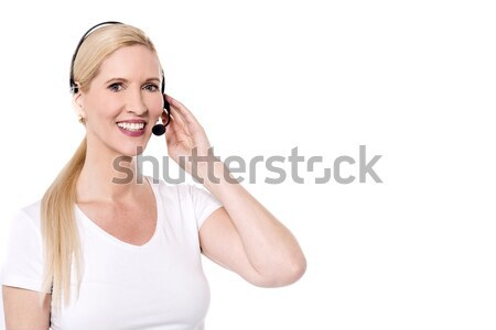 How may i help you ! Stock photo © stockyimages