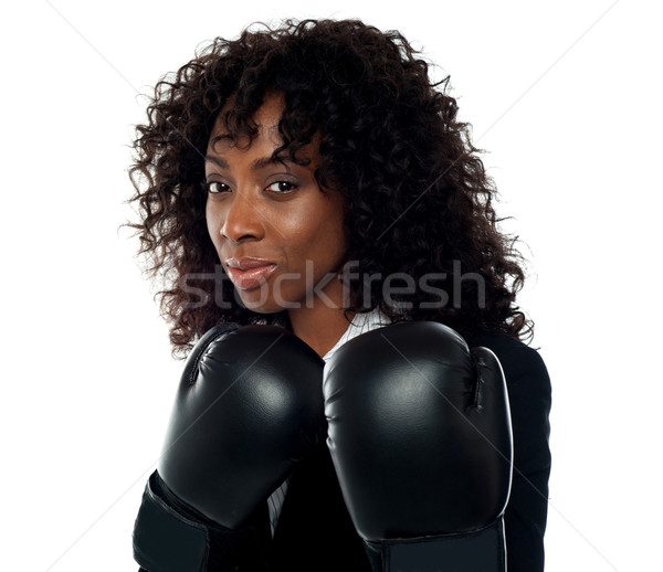 Get ready for some action Stock photo © stockyimages