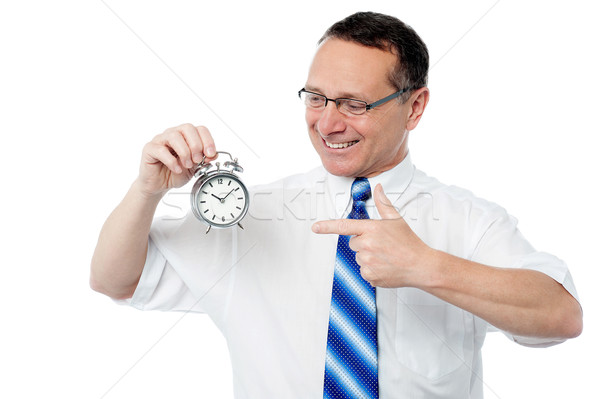 The clock is ticking, achieve your target. Stock photo © stockyimages