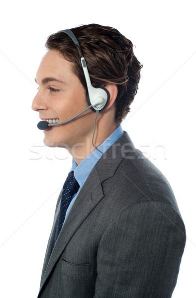 Customer support operator Stock photo © stockyimages