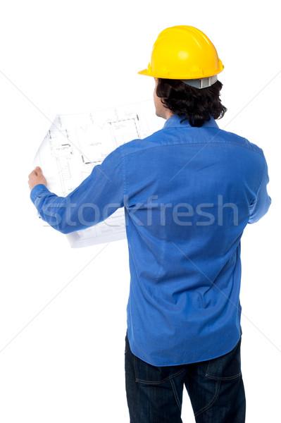 Planı plan genç erkek sivil Stok fotoğraf © stockyimages