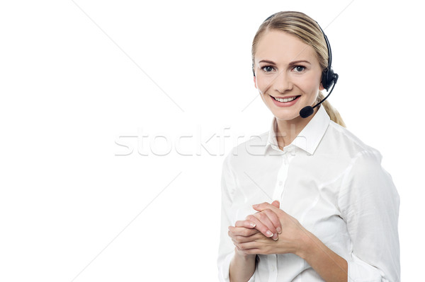 Its my pleasure to serve you ! Stock photo © stockyimages